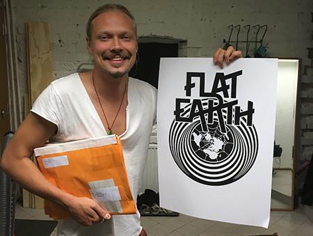 Flat Earth - Anthony
