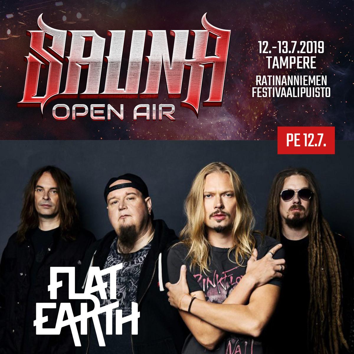 Flat Earth - Sauna Open Air